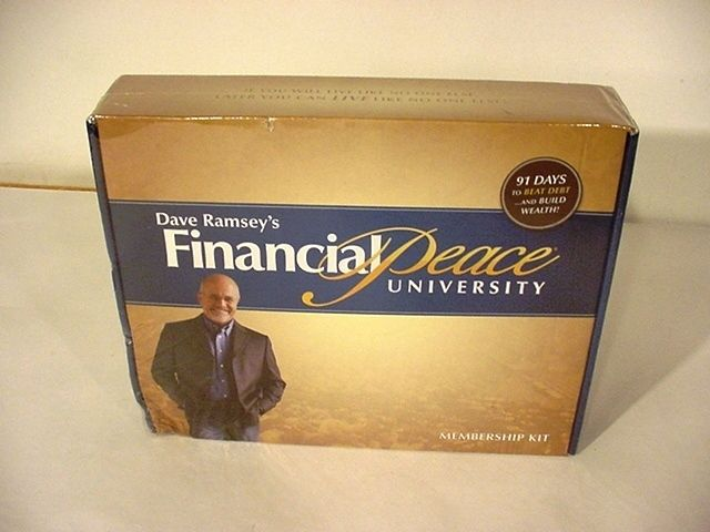 Dave Ramsey Financial Peace University complete plus dvds