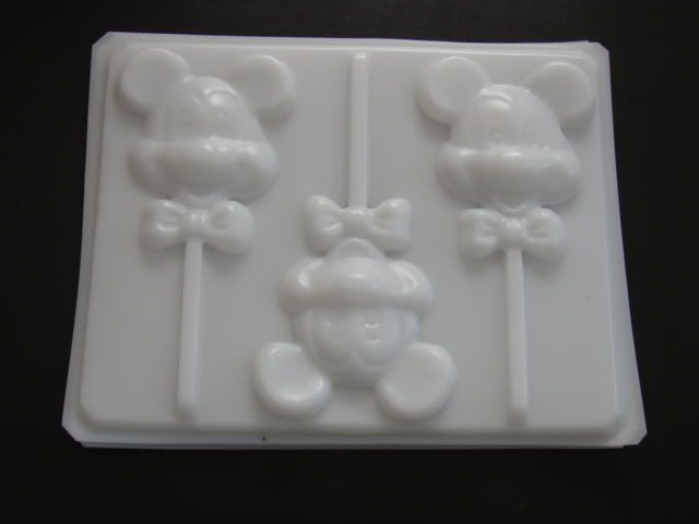 MICKEY MOUSE BOW TIE FACE Hard Candy Soap Mold