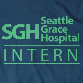 SEATTLE GRACE HOSPITAL T Shirt greys greys anatomy