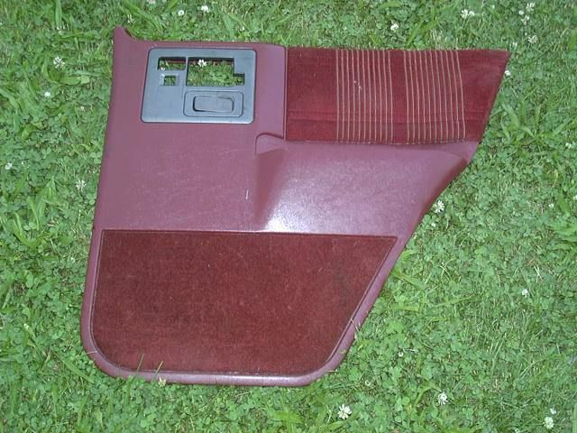 83 94 ? 92 Chevy S10 Blazer RH Passe Rear Door Panel